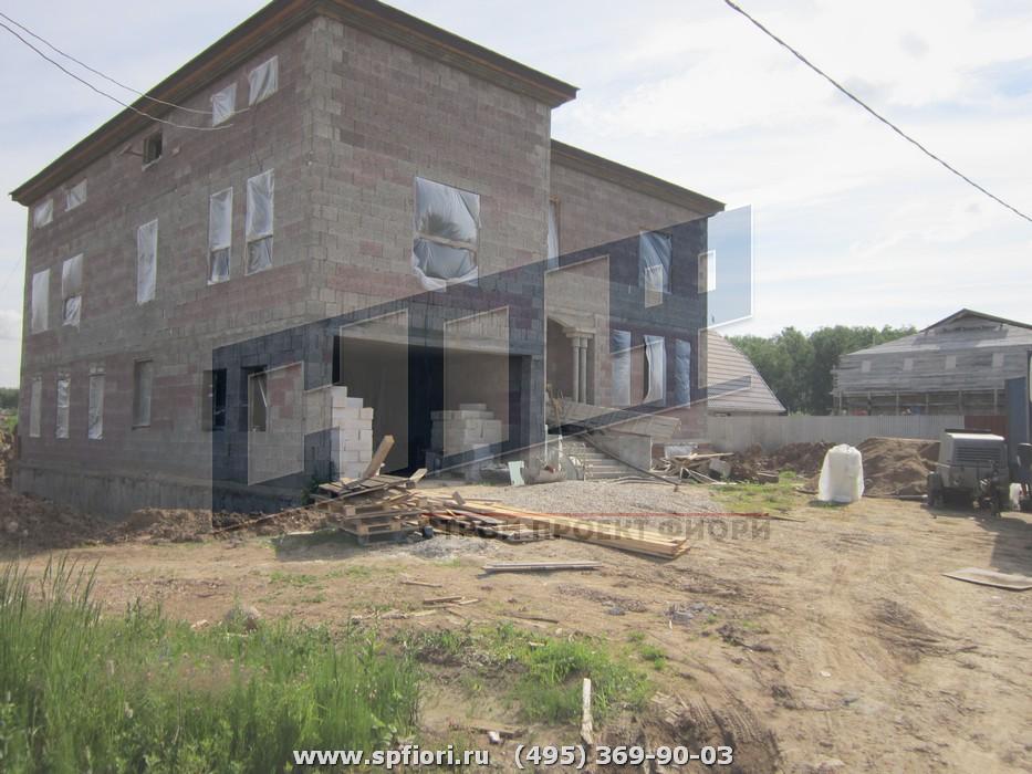 Коттедж в поселке Турлатово Рязанской области.